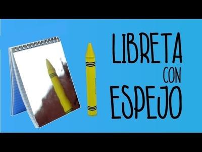 COMO DECORAR LIBRETAS FACIL. IDEAS PARA DECORAR CUADERNOS - Hablobajito