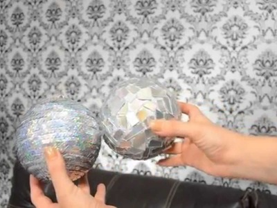 Como hacer Esferas Navideñas