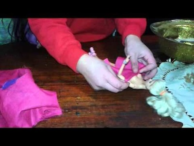 Como hacer ropa para tu muñeca
