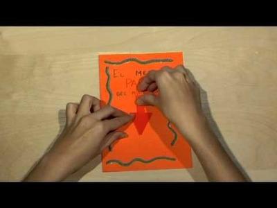 Cómo realizar tu propia tarjeta para felicitar el Día del Padre