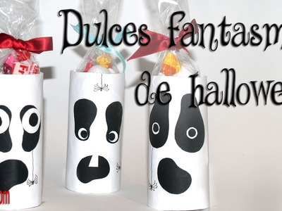 DIY Fantasmas Dulces para Halloween - Sweet Ghosts for Halloween