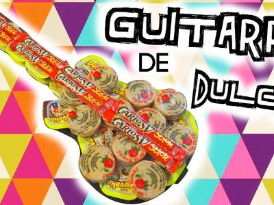 GUITARRA DE DULCES ♥'REGALO NOVIO,AMIGOS,ETC. TUTORIAL