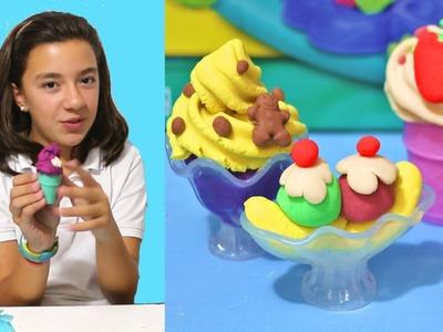 Juguete de Play-Doh para hacer helados. Unboxing toys (sorteo cerrado)