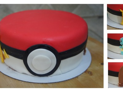 PASTEL DE POKÉMON (DECORACIÓN CON FONDANT) - BAKING DAY