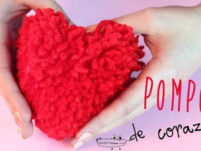 Pompon corazon