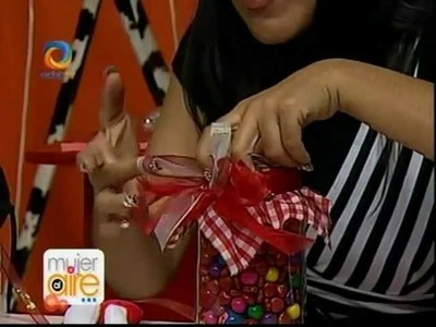 Tarjeta dulcero. regalo facil para san valentin