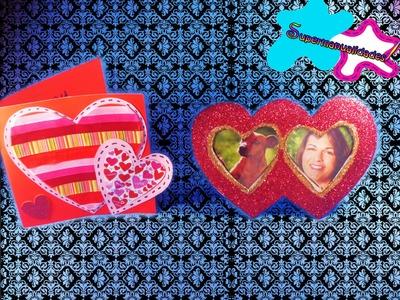 Tarjeta y Portarretratos para San Valentín ღSUPERMANUALIDADESღ