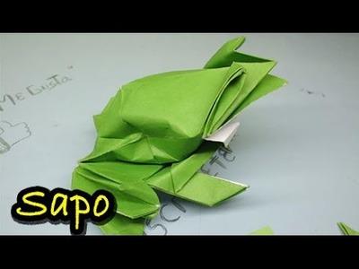 # 3 Origami - rana toro de papel ( origami bullfrog )