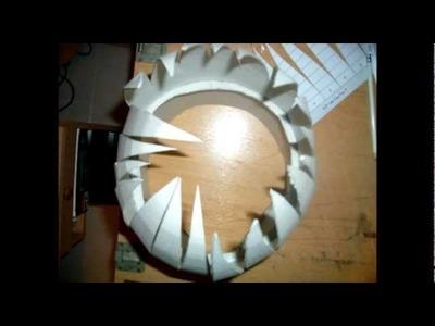 Casco Boba Fett con cartón piedra - Boba Fett helmet cardboard