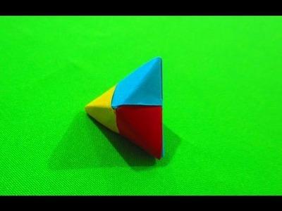 Como hacer un triangulo equilatero de papel  FACIL ORIGAMI #7