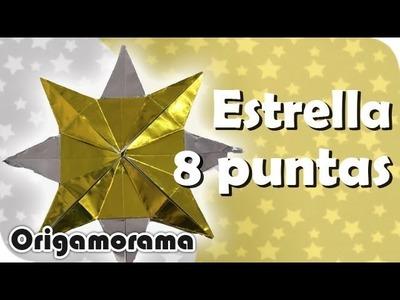 Haz una ESTRELLA de 8 PUNTAS!!! #origaminavideño