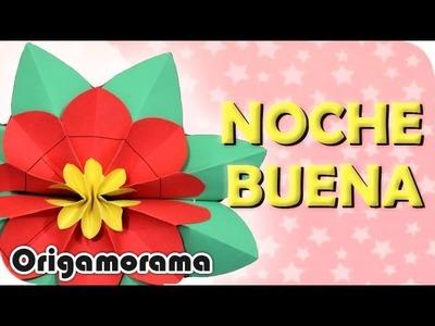 Haz una FLOR de NOCHEBUENA!!! (otro modelo) #origaminavideño
