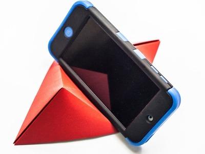 Origami para telefono - Cómo hacer un soporte para su teléfono