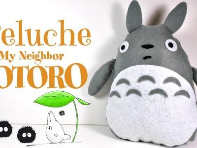 TUTORIAL: Cómo hacer un peluche de Totoro con fieltro (Fácil) | Mundo@Party