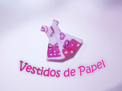 Vestidos de Papel - Origami. Paper Dress