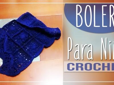 Bolero Niña Crochet - Tejido Paso a Paso