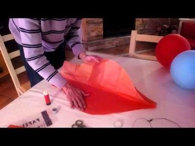 Como hacer un globo aerostatico