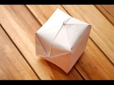 Como hacer un globo de papel facil