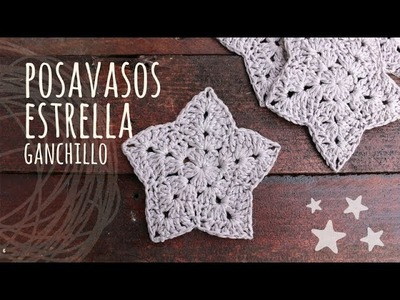 Tutorial Posavasos Estrella Ganchillo | Crochet