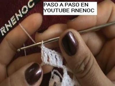 4 DE 8 COMO TEJER CHALECO REDONDO DAMA NIÑA GANCHILLO CROCHET