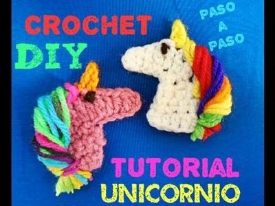 Aprende a Tejer Unicornio !!! Unicorn Crochet Tutorial
