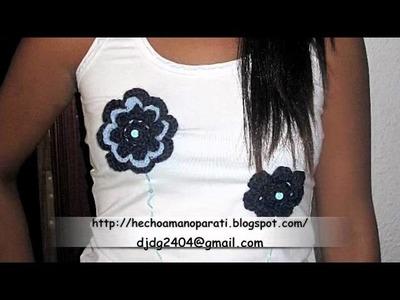 Camisetas Decoradas, ganchillo, crochet.m4v