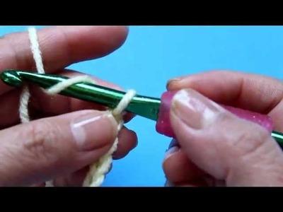 Como tejer Crochet.ganchillo - Punto cadena o cadeneta