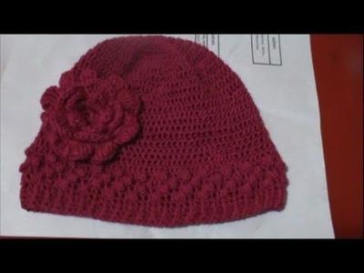 Como Tejer Gorro Para Niña en Crochet