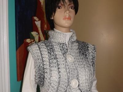 Crochet  chaleco bien facil - con Ruby Stedman