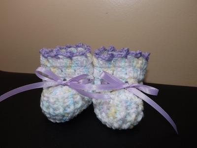 Crochet zapaticos o boticas para Bebe'