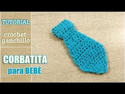 DIY Como tejer corbatita a crochet, ganchillo. Super fácil