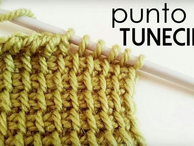 Punto Tunecino (Punto Básico o Punto Simple de Crochet Tunecino)