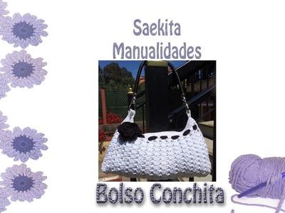 Bolso Conchita - Bolso ganchillo - Crochet Bag Tutorial