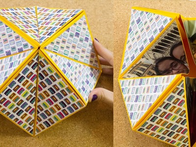 Carta origami flexahedron | Craftingeek