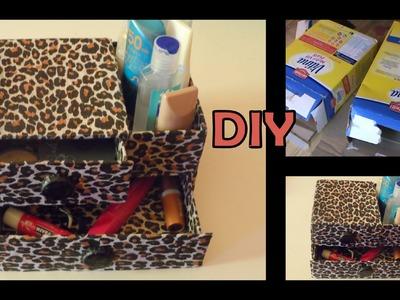 Diy:organizador para tus maquillajes ( home organizer Makeup)