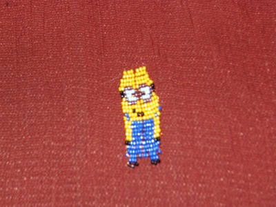 DIY Tutorial de Minion de chaquiras. mostacillas 1 de 2