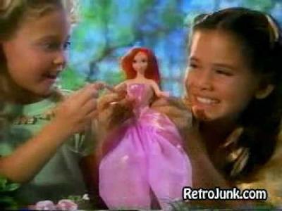 Princess Ariel doll commercial