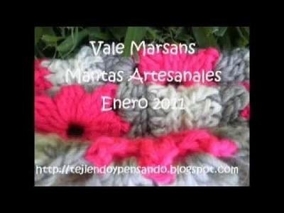T&P - Enhorabuena - Mantas a Crochet. Ganchillo