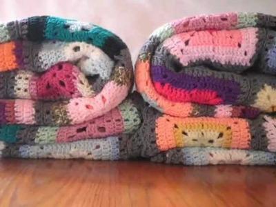 T&P - Fulana & Mengana - Manta a Crochet. Ganchillo