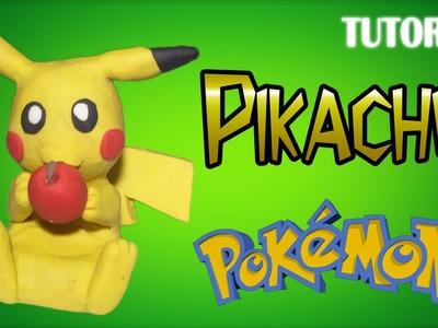 Tutorial Pikachu en Plastilina | Pokemon | Pikachu Clay Tutorial