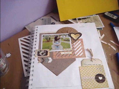 Tutorial Scrapbook.smash book- plantillas para fondo. embellecedores