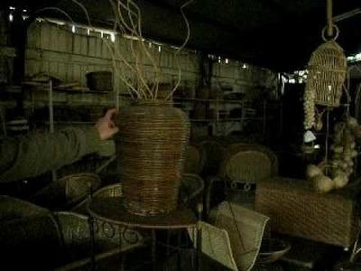 CHIMBARONGO, VI Region Chile pueblo de artesanias en mimbre
