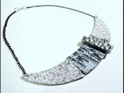 Collar texturas - Texture necklace