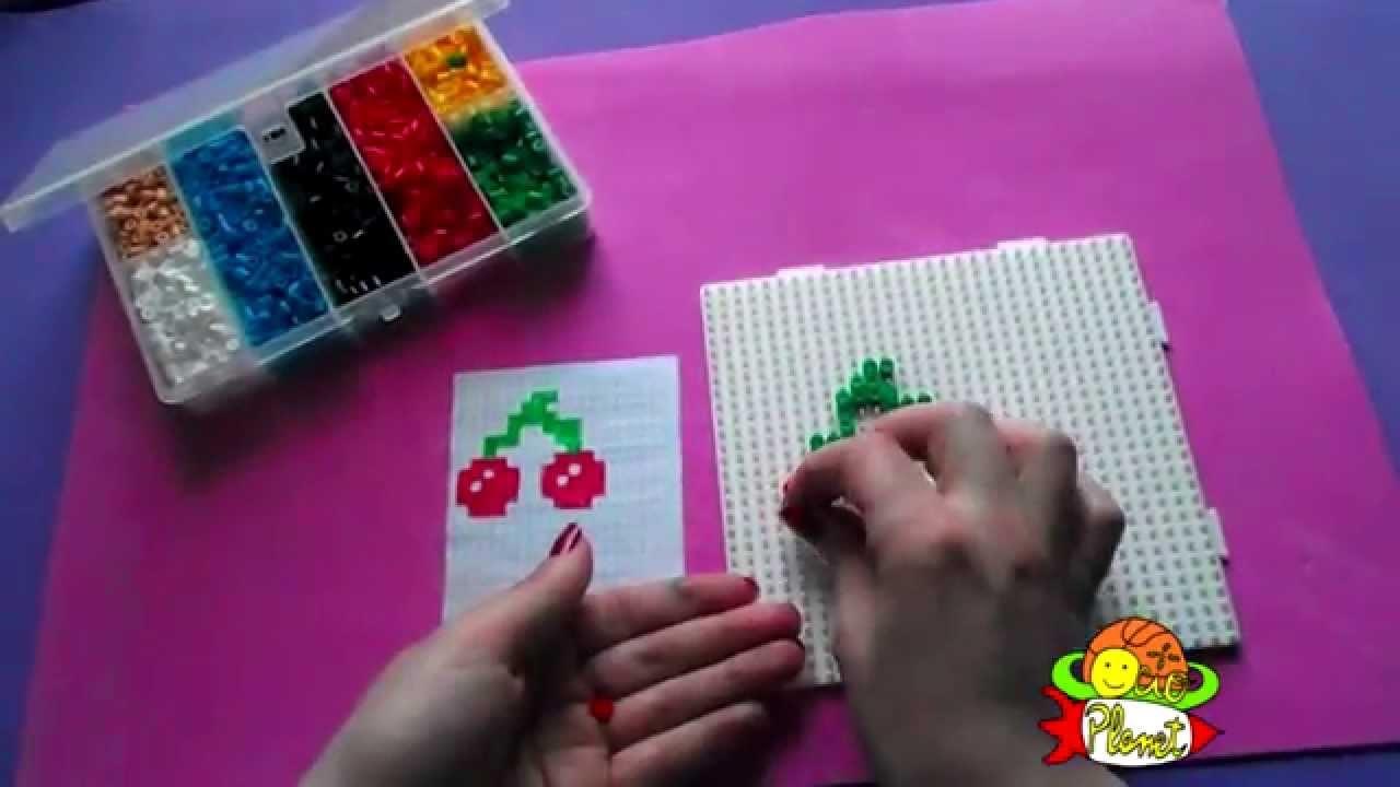 Cómo crear con hama beads