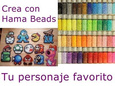 Crea figuras con Hama Beads o Pyssla!