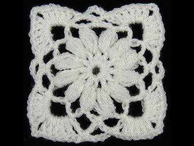 Crochet : Cuadrado # 8