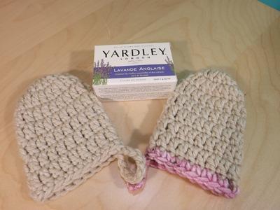 Crochet Scrubbies Para utilizar al Bañarse o En la Cosina