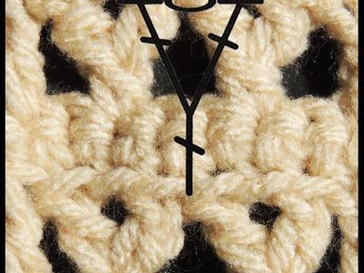 Curso Basico de Crochet : Punto Y