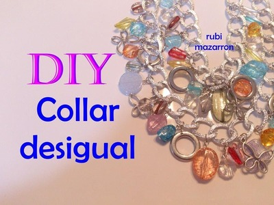 Diy. Collar Desigual. Necklace