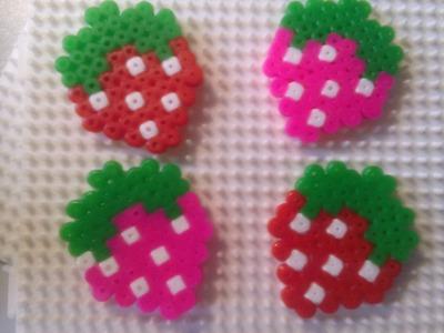 Fresitas con Hama Beads